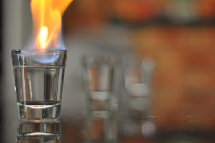 Ожог от спиртового компресса лечение